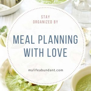 With our busy lives, the last thing we want to think about is what we are fixing for dinner. Stay organized with my meal planning ideas