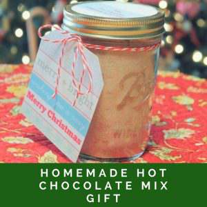 Homemade Hot Chocolate Mix Gift