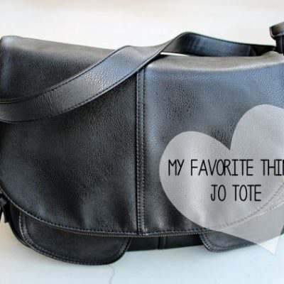 My Favorite Things:  Jo Tote
