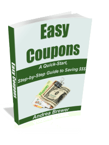 Easy Coupons Quick Start ebook