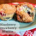 Blueberry Strawberry Muffins
