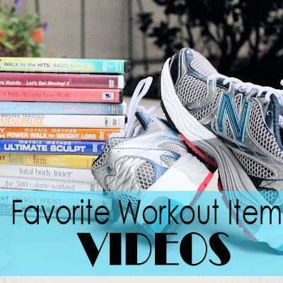 Favorite Workout Items: Videos and GIVEAWAY