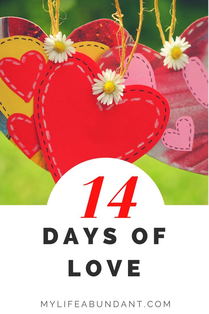 14 days of love during Valentines season is useful for every marriage and relationship. Here are 14 things to enjoy together.