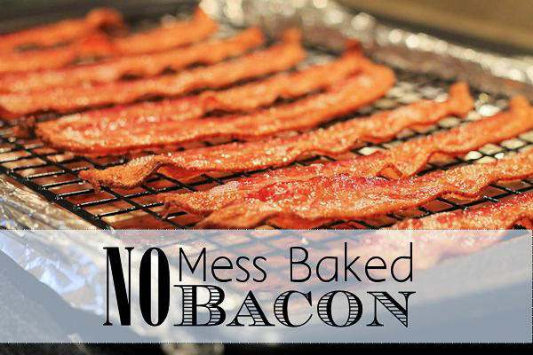 No Mess Baked Bacon My Life Abundant