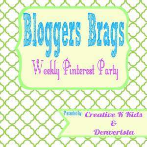 Bloggers Brags Pinterest Party for June 2