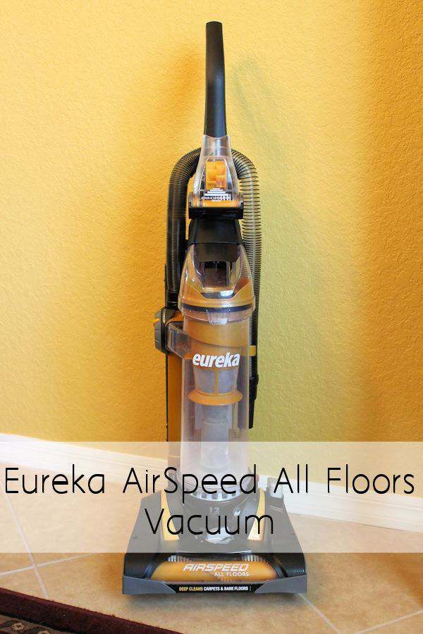 Eureka AirSpeed All Floors Vacuum Review and Giveaway