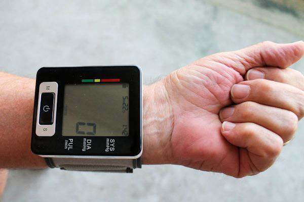 Wrist Blood Pressure Monitor with LCD Display