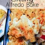 Whats for dinner? How about a really easy alfredo pasta casserole made with items you probably already have in your pantry. A family pleaser.