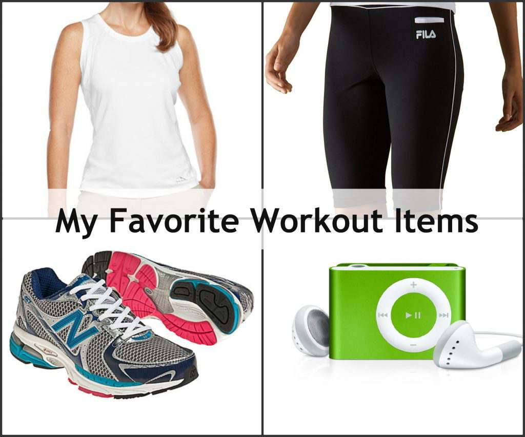 My Favorite Workout Items Review and Giveaway