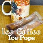 Iced Coffee Frozen Pops for that special adult treat when its hot outside.