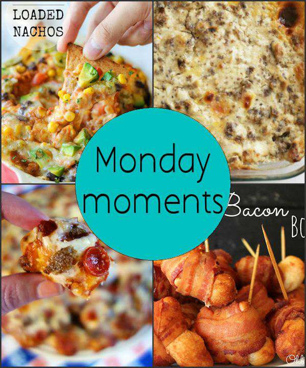 Monday Moments with Yummy Football Food