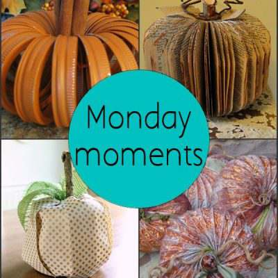 Monday Moments with DIY Pumpkins