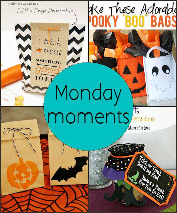 Monday Moments with Halloween Treat Bags