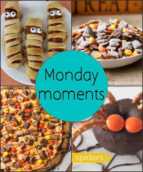 Monday Moments with Halloween Treats