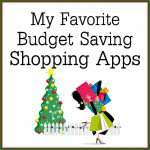 Holiday Shopping on a Budget Using My Favorite Saving Apps