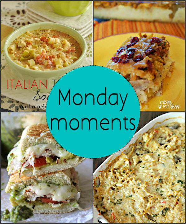 Monday Moments with Thanksgiving Recipes for Leftovers