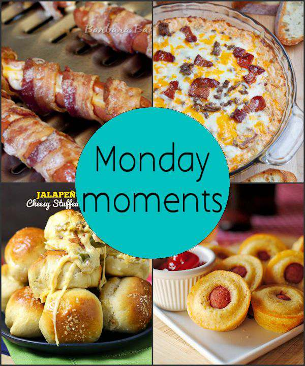 Monday Moments with Super Bowl Snacks