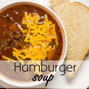 Hearty Hamburger Soup