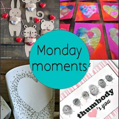 Monday Moments with Valentine Crafts