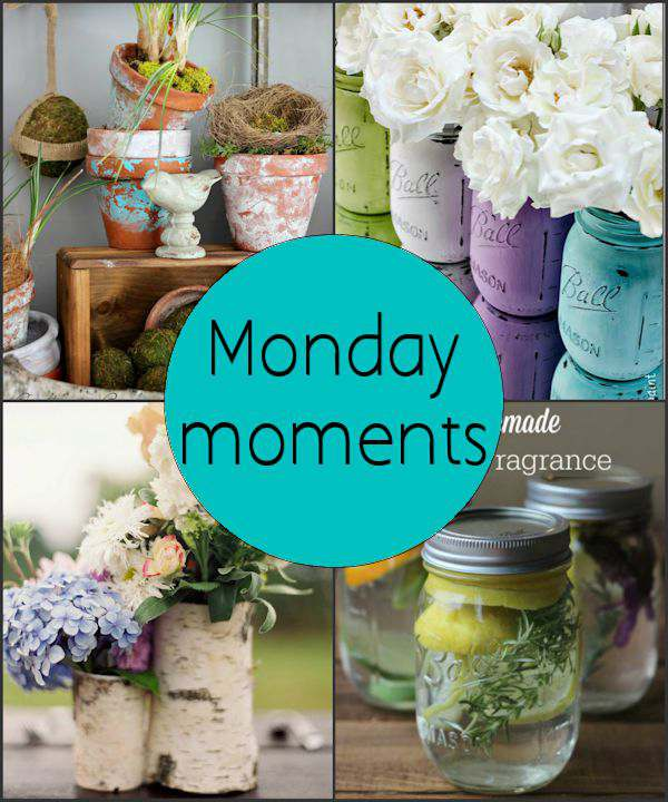 Monday Moments with Spring Decorations