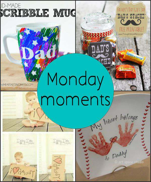 Monday Moments with Fun Fathers Day Gifts