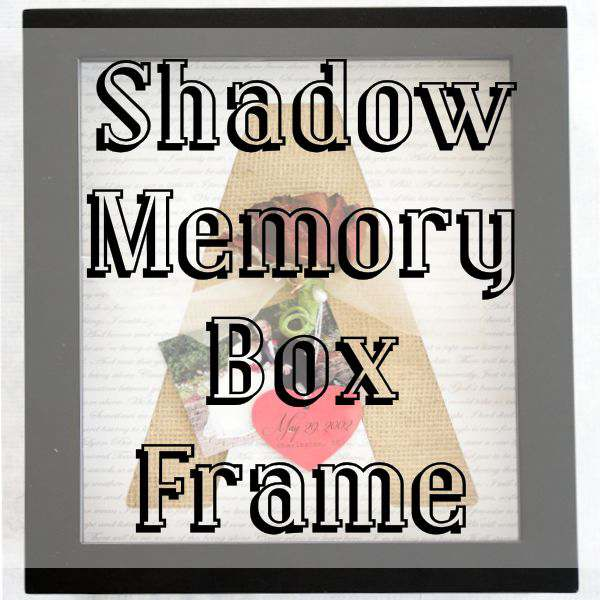 Shadow Memory Box Frame