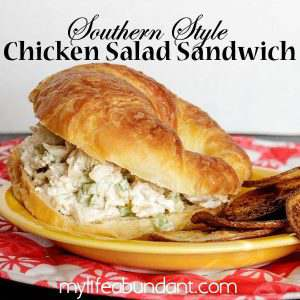 Southern Style Chicken Salad Sandwich