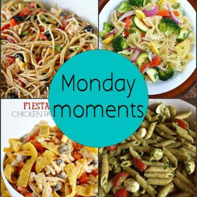 Monday Moments with Summer Pasta Salads