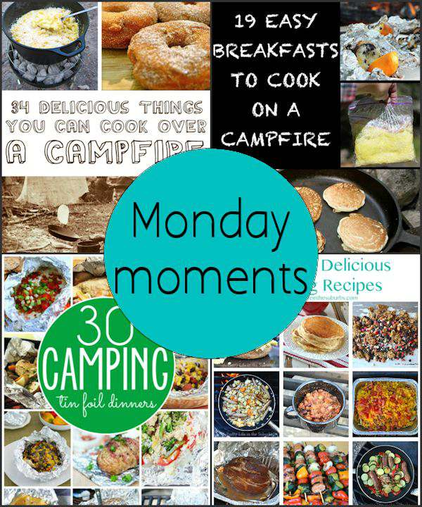Monday Moments with Camp Cooking
