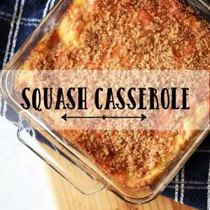 Summer brings so much produce and squash is always a big producer. Here is a really easy recipe to use your squash with.