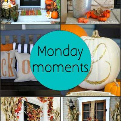 Monday Moments with Simple and Beautiful Fall Decorations