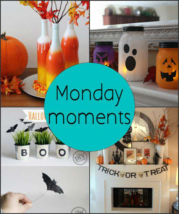 Monday Moments with Halloween Decor