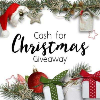 Last Day for $225 Cash for Christmas Giveaway