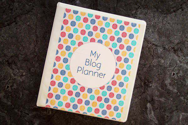 2016 Blog Planner Free Printable + Christmas Bonus