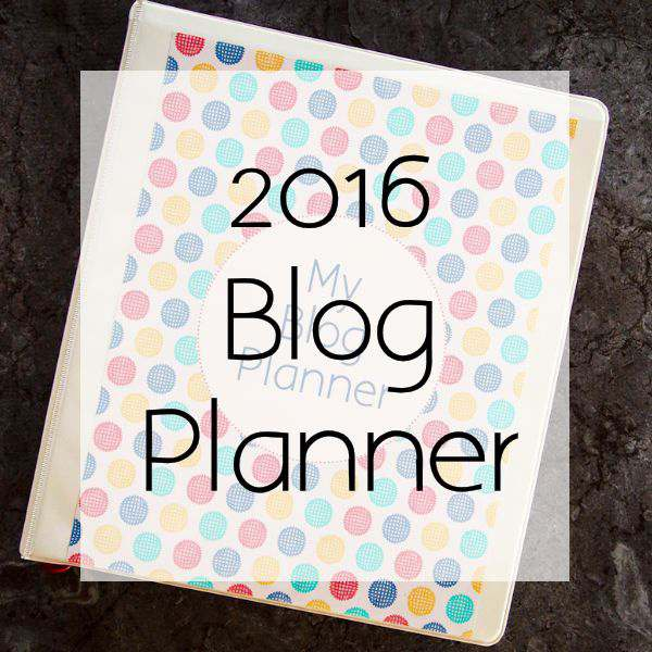 2016 Blog Planner Free {Printable} + Christmas Bonus