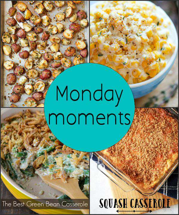Monday Moments with Yummy Thanksgiving Food