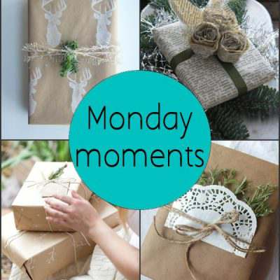 Monday Moments with Creative Gift Wrapping