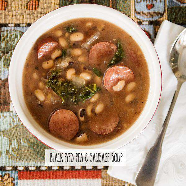 Black Eyed Pea & Sausage Soup