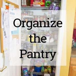 Does everything fall out of your pantry when you open it up. Mine use to until I organized it and now I can actually find what I need