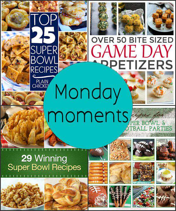 Monday Moments with Over 100 Super Bowl Recipes