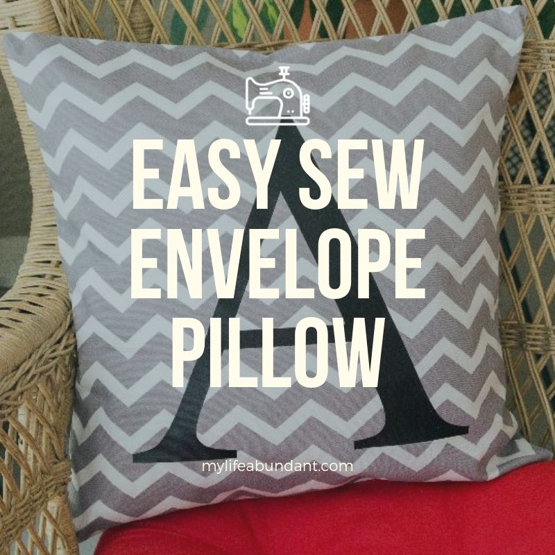 Looking for an easy way to decorate a room that doesn't cost a lot? How about making pillows. Easy design to change out often.