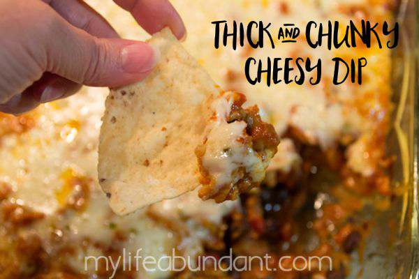 Thick and Chunky Cheesy Dip