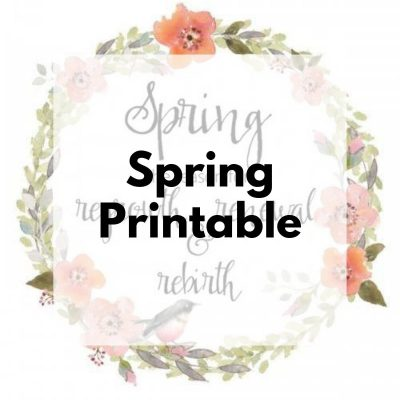 The Reason for Spring {Printable}