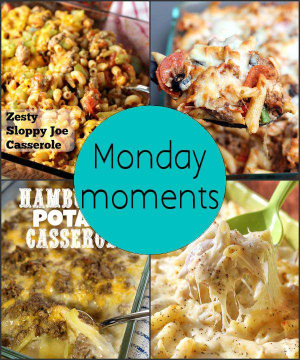 Monday Moments with Hearty Casseroles