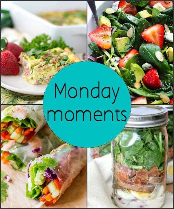 Monday Moments with Spring Food