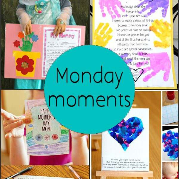 Monday Moments with Kid Friendly Mothers Day Printables