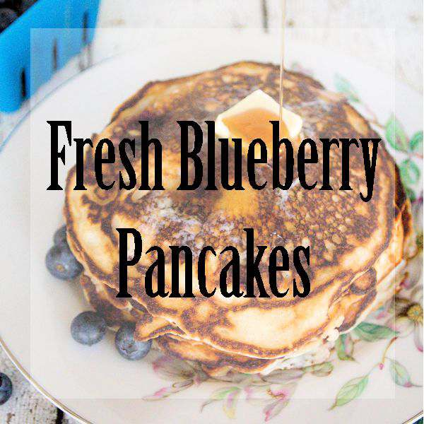 Fresh Blueberry Pancakes for breakfast are the best. I love having so many great veggies and fruits Fresh From Florida