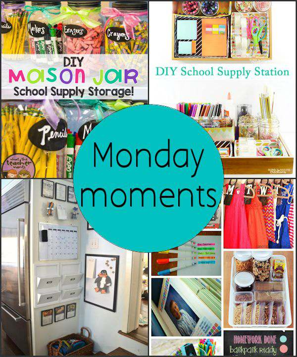 Monday Moments with School Organization