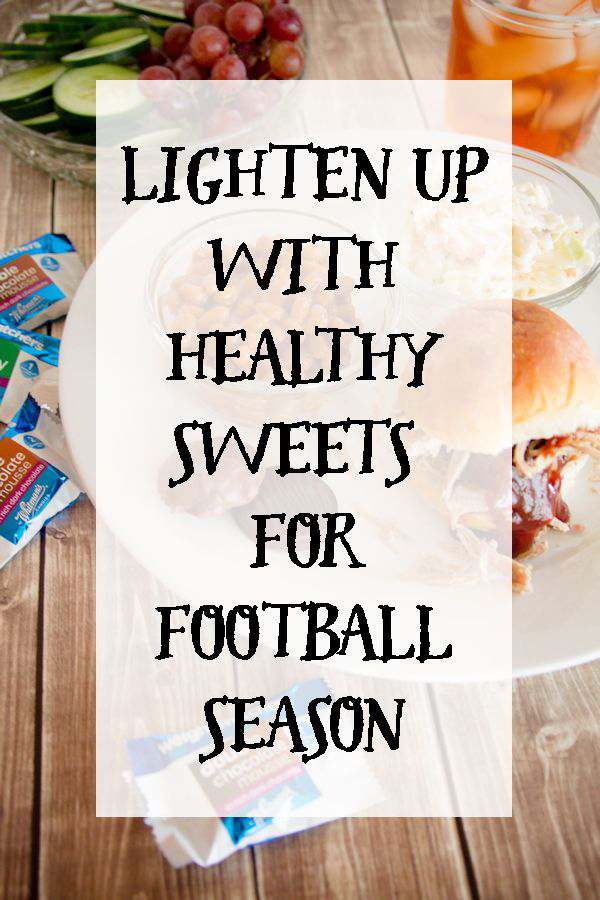 Lighten Up with Healthy Sweets for Football Season