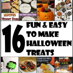16 Fun and Easy to Make Halloween Treats